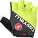 Castelli Adesivo Gloves Men yellow fluo/anthracite